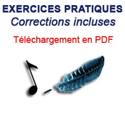 Exercices musicaux en téléchargement