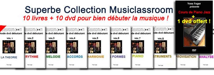 Apprendre les bases de la music en dvd