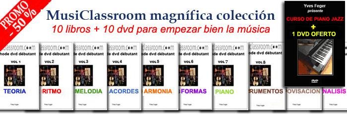 Aprender los bases de la musica con dvd