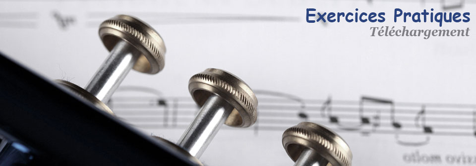 Exercices de musique en téléchargement
