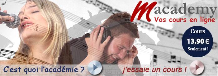 Cours de musique en ligne