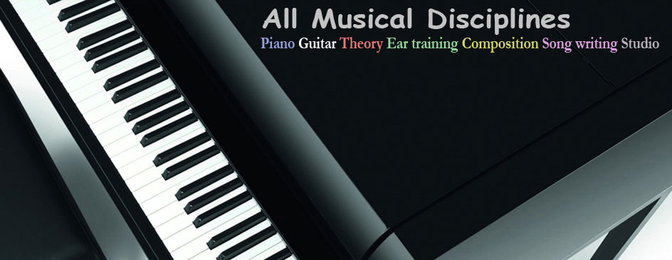 Piano lessons,guitar,theory,ear training,harmony and composition