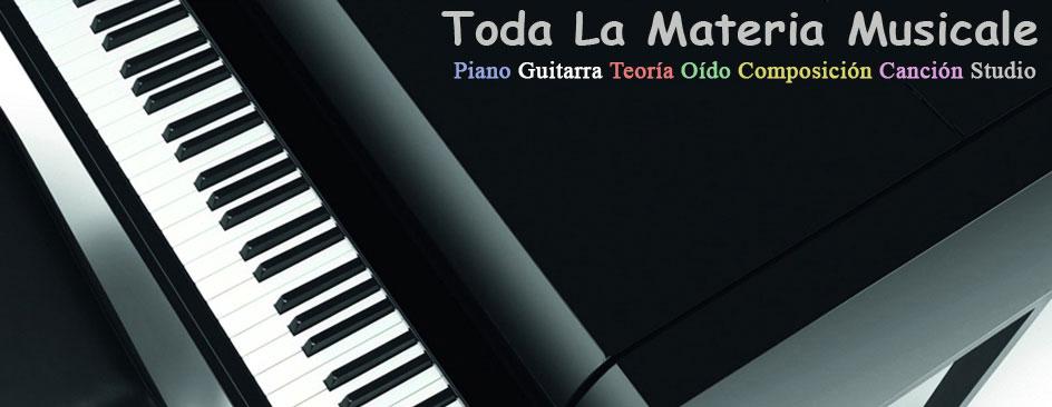 Cursos de piano,guitarra,teoría,solfegio, armonía y composición