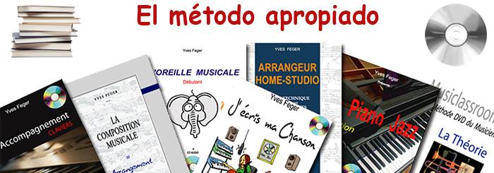 Métodos musicales and libros