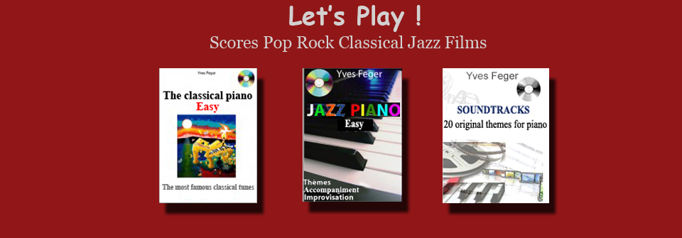 Classical,rock,jazz and  film music scores