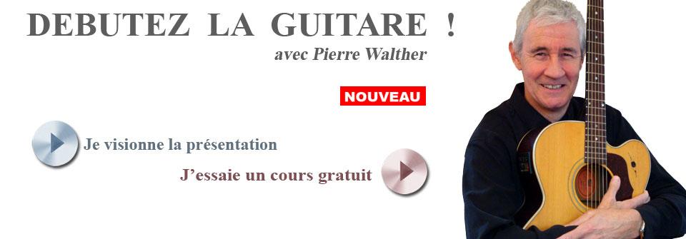 cours de guitare débutant en ligne