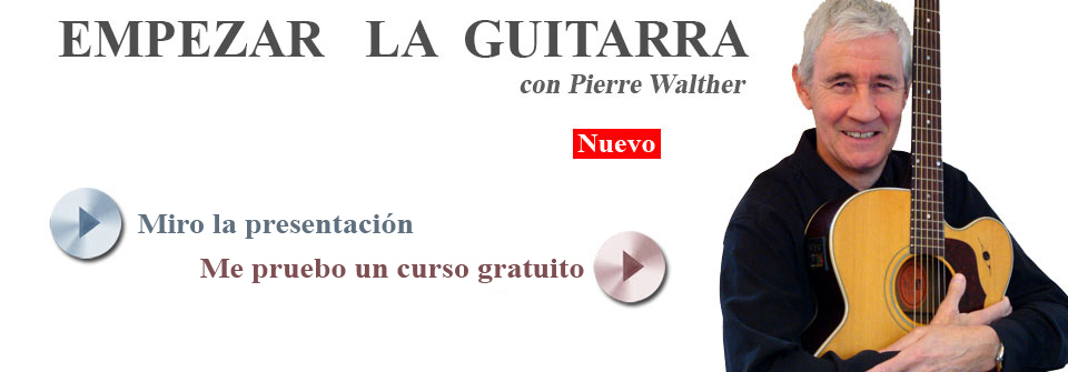 Lecciones de guitarra en linea para los principiantes