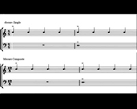 Chords over bass notes